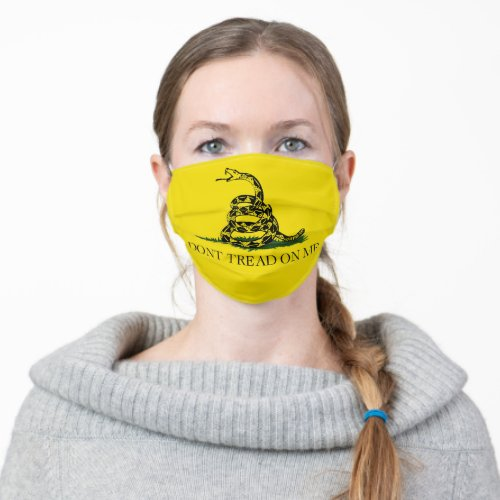 Reusable Non Medical Cloth Face Mask Gadsden Flag