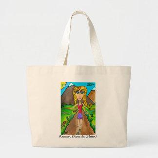 Reusable Runner Diva tote bag