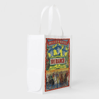 Reusable Shopping Bag 101 Ranch Western Cowboy