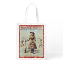 Reusable Shopping Bag Annie Oakley Western Cowgirl