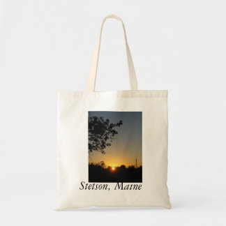 Reusable Stetson Maine tote
