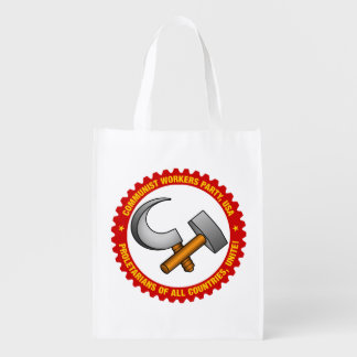 Reusable Tote Bag with Party Logo