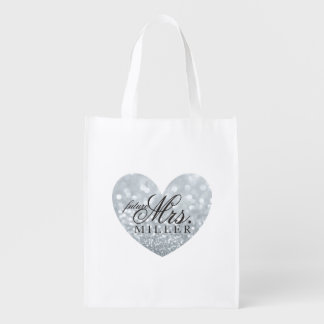 Reusable Tote - Heart Fab future Mrs. Market Tote