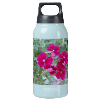 Reusable water bottle, floral photo insulated water bottle