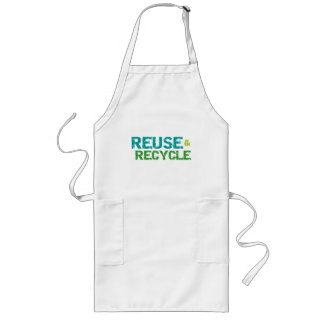 Reuse and Recycle Tshirts and Gifts Apron