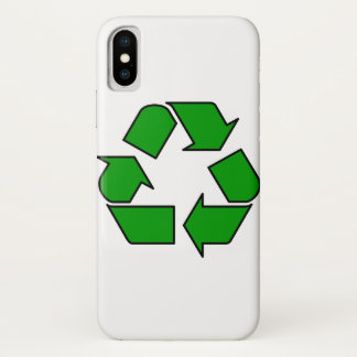 Reuse & Recycle iPhone X Case