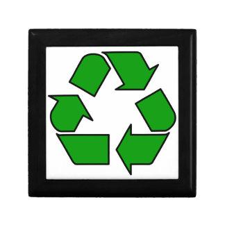 Reuse & Recycle Keepsake Box