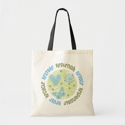Reuse Recycle Responsible Bags