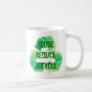 Reuse Reduce Recycle Coffee Mug