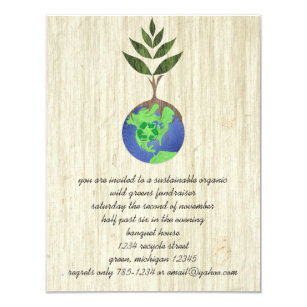 Reduce reuse recycle invitations zazzle reuse reduce recycle invitation stopboris Image collections