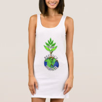 ReUse ReDuce ReCycle Sleeveless Dress