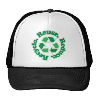 Reuse Reduce Recycle Trucker Hat