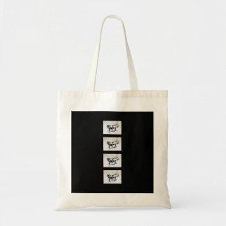 REUSEABLE SHOPPING BAG LONE WOLF DESIGN