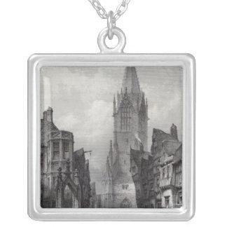Reutlingen, engraved by J.J. Crew Silver Plated Necklace