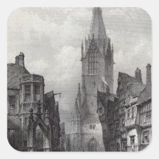 Reutlingen, engraved by J.J. Crew Square Sticker
