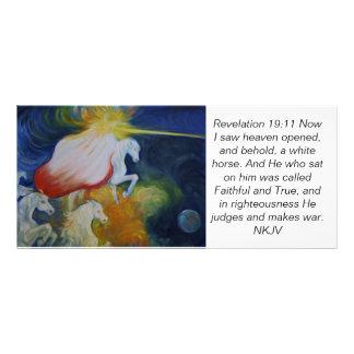 Rev. 19:11 scripture card, Return of the King Rack Card