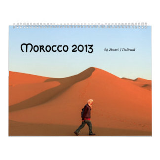 Rev. 2013 de Marruecos 2 Calendarios De Pared