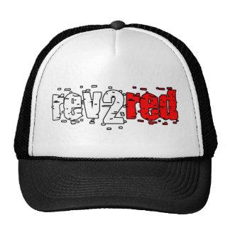 Rev 2 rojo gorros