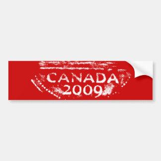 Rev de la pegatina para el parachoques de Canadá N Pegatina Para Auto