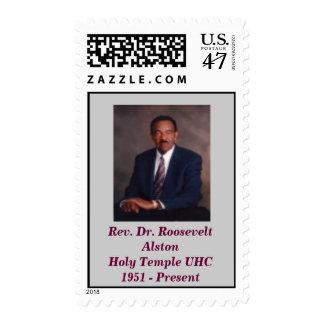 Rev. Dr. Roosevelt AlstonHoly Templ... Postage Stamp
