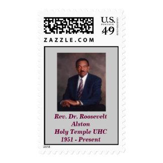Rev. el Dr. Roosevelt AlstonHoly Templ… Franqueo