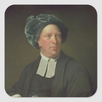 Rev. Juan Pickering, c.1777-80 Pegatina Cuadrada