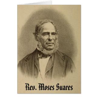 Rev Moses Suares Tarjetón