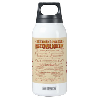 Rev. Pekoe's Remedy 10 Oz Insulated SIGG Thermos Water Bottle
