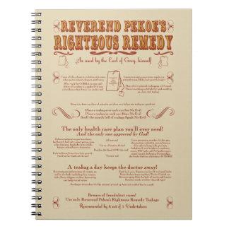 Rev. Pekoe's Remedy Note Books