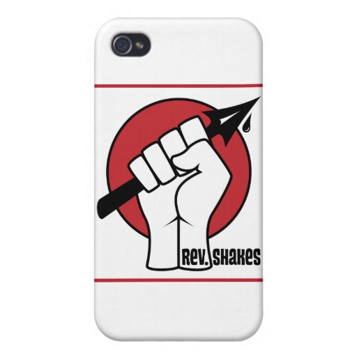 Rev. Shakes Spear Logo (Square) iPhone 4/4S Cover