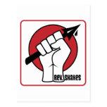 Rev. Shakes Spear Logo (Square) Post Card