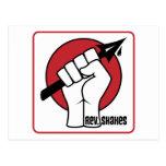Rev. Shakes Spear Logo (Square) Post Cards