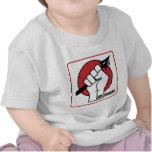 Rev. Shakes Spear Logo (Square) Tee Shirts