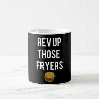 Rev Up Those Fryers Mug (White)