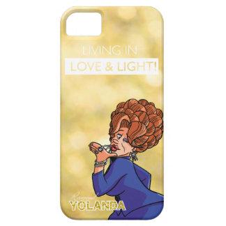 Rev. Yolanda - viviendo en amor y luz Funda Para iPhone SE/5/5s