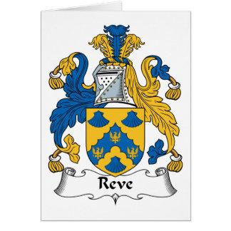 Reve Family Crest Card