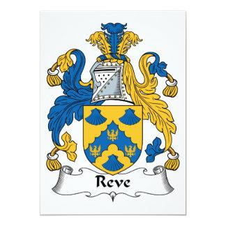 Reve Family Crest Announcements