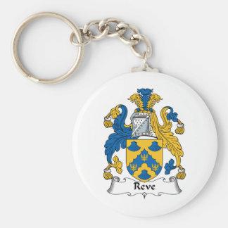 Reve Family Crest Keychain