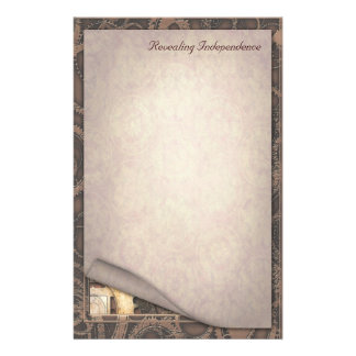 Revealing Independence - Steampunk Stationery