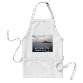 Revealing Light- Finding Beauty Adult Apron