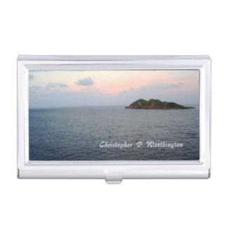 Revealing Light Personalized Business Card Case