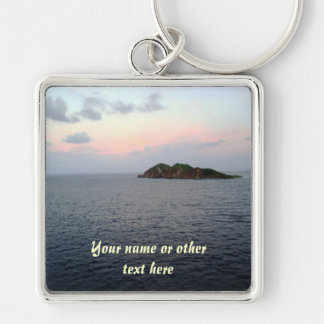 Revealing Light Personalized Keychain