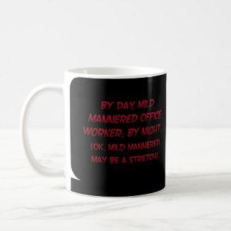 Revealing my secret identity (sq) coffee mug