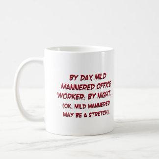 Revealing my secret identity (sq) classic white coffee mug
