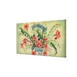 Reveil De Printemps Soap LabelParis, France Canvas Print