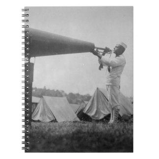 Reveille - entrenamiento de la marina de guerra, S Libro De Apuntes