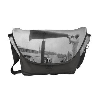 Reveille - Navy Training, Seattle (ca 1917) Messenger Bag