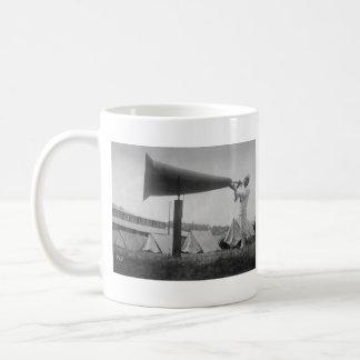Reveille - Navy Training, Seattle (ca 1917) Coffee Mug