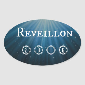 Reveillon Oval Sticker