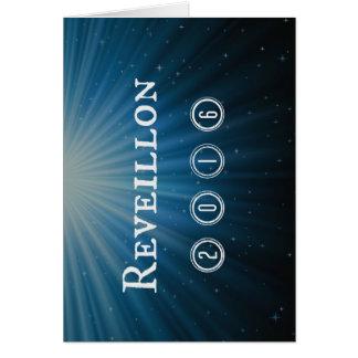 Reveillon Tarjeta De Felicitación